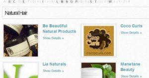 natural hair directory