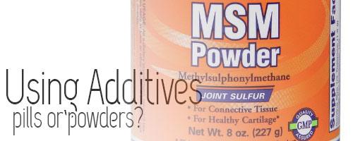 MSM powder form - curlytea.com