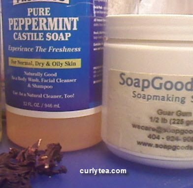 coconut hibiscus peppermint - curlytea.com
