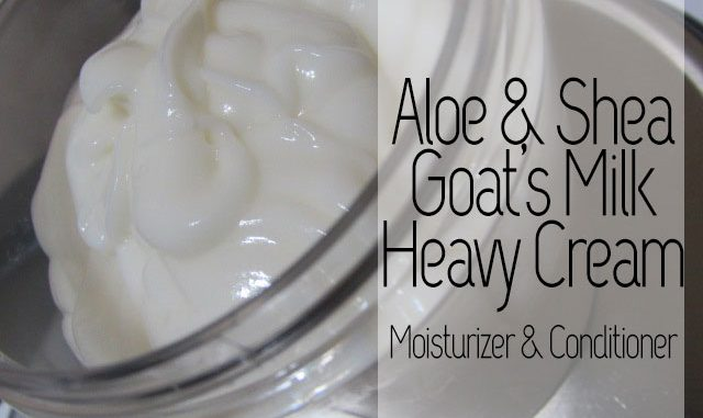 aloe and shea butter goat's milk - curlytea.com
