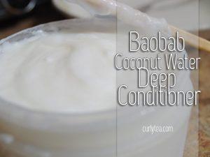 Baobab Coconut Water Deep Conditioner