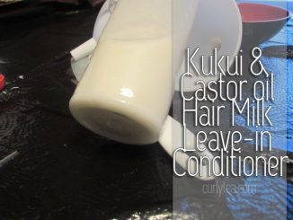 kukui and castor conditiong milk - curlytea.com