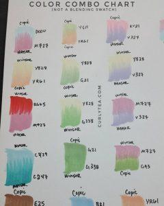 color combo chart curlytea.com