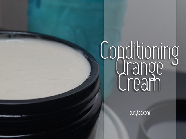 conditioning orange cream - curlytea.com