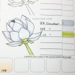 lotus digital printable - curlytea.com
