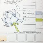 lotus digital printable - curlytea.com