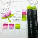 lotus pinkgreen - curlytea.com