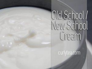 Old School New School cream - curlytea.com