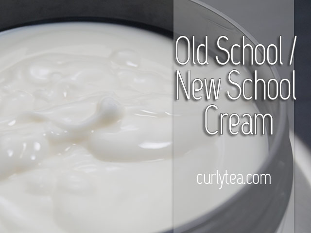 Old School New School cream - curlytea.com