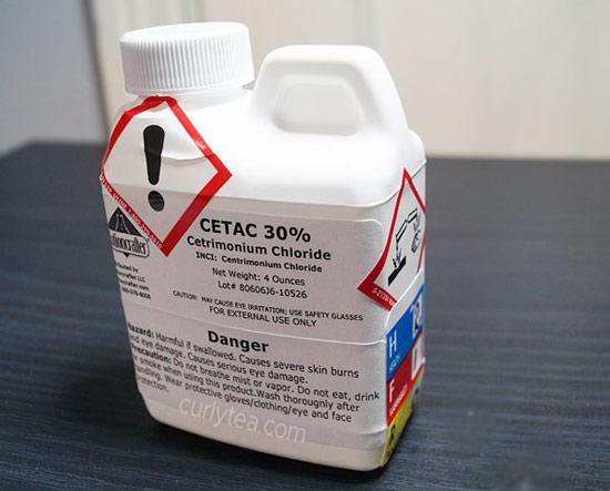 cetac - centrimonium chloride - curlytea.com