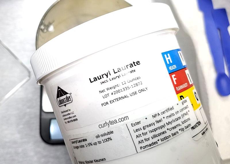 lauryl laurate - curlytea.com