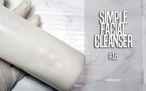 Simple Facial Cleanser #18 - curlytea.com