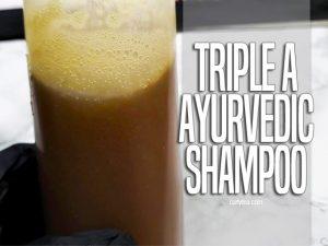 Triple A Ayurvedic Shampoo - curlytea.com