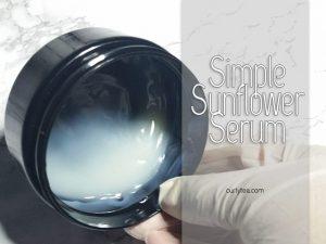 Simple Sunflower Serum - curlytea.om