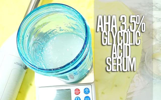 AHA 3 5% Glycolic Acid Serum [VIDEO] - curlytea com