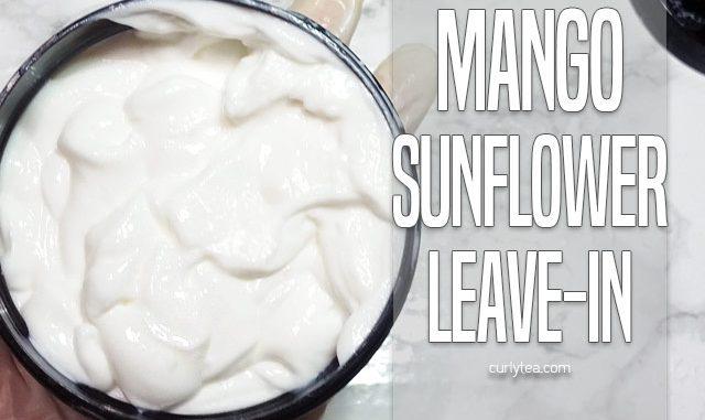 Mango Sunflower Leave-in Cream