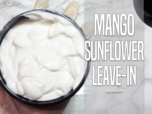 Mango Sunflower Leave-in Cream