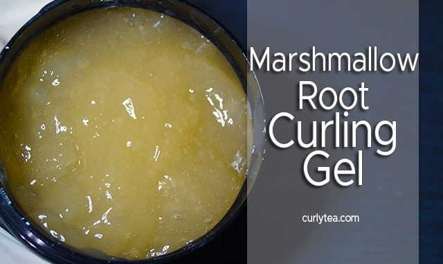 Marshmallow Root Curling Gel