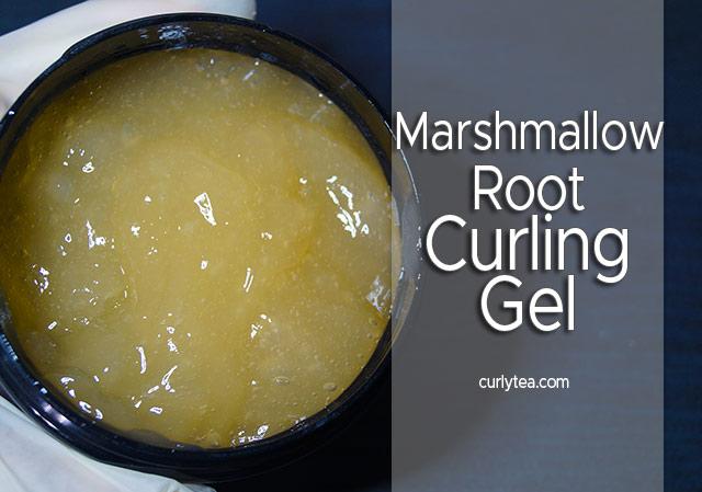 Marshmallow Root Curling Gel