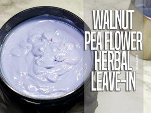Walnut Pea Flower Herbal Leave-in - curlytea.com